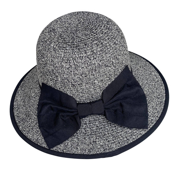Bella Summer Hat Black- Chloe & Lex