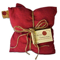 Double Square Pillow -Red Denim