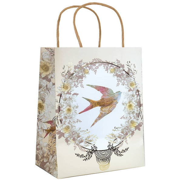 "10""x 7.75"" Gift Bag - Bird in Flight"