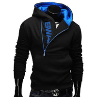Zipper Hoodies Men Cotton Sweatshirt