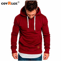 Covrlge Mens Sweatshirt Long Sleeve