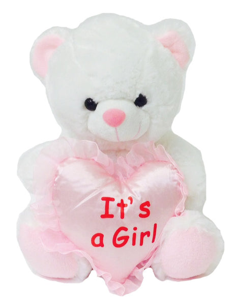 "10"" ""IT'S A GIRL"" BEAR"