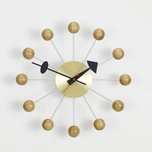 Wall Clocks - Ball Clock ciliegio