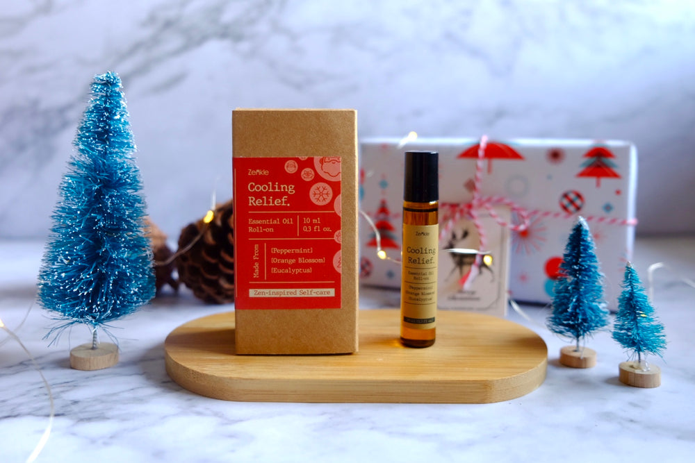 Zenkle Singapore essential oils blend roll-on roller christmas gift holiday gift