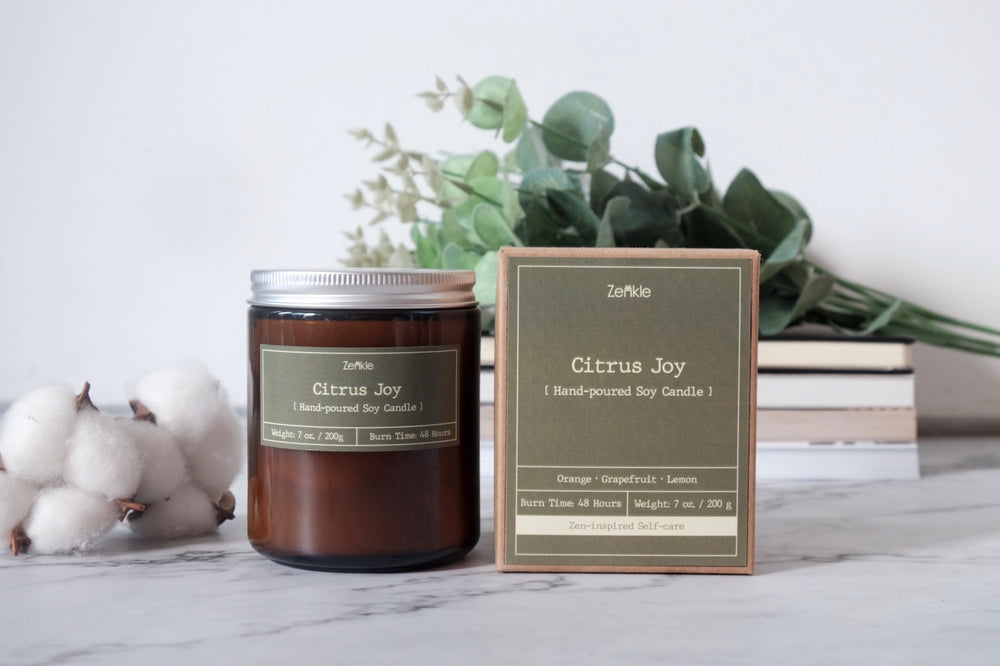 Citrus Joy Soy Candle