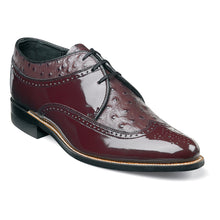 Load image into Gallery viewer, Dayton Ostrich Wingtip Oxford (Available in Black or Burgundy)