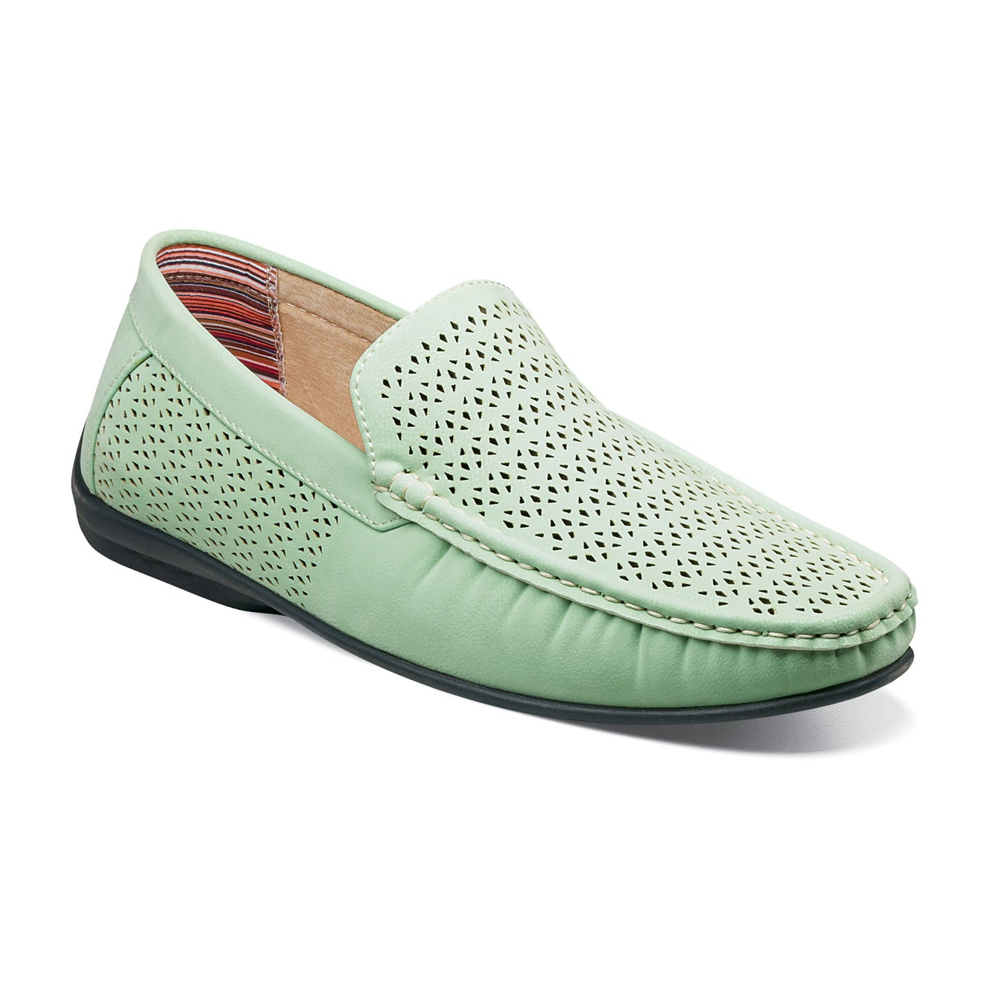 Perfed Slip On (Available in Light Aqua or White)
