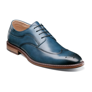Fletcher Wingtip Oxford (Available in Green and Indigo)