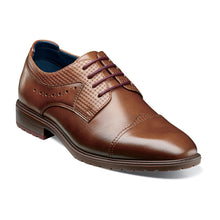 Load image into Gallery viewer, BOYS Raiden Cap Toe Oxford (Available in Tan or Black)