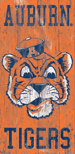 Auburn Tigers Wall Sign