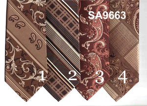 Various Brown Ties