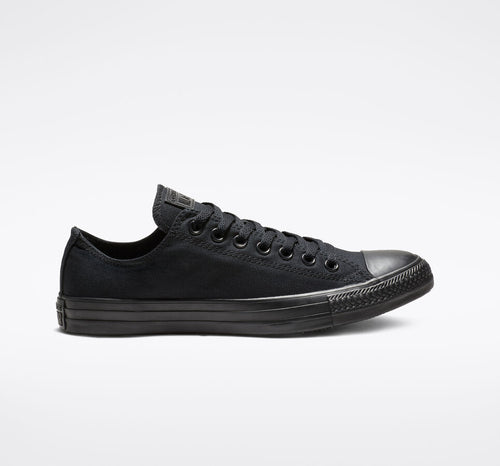 Chuck Taylor All Black Monochrome Low Top Shoe