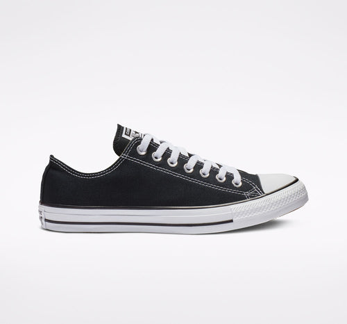 Chuck Taylor All Star White and Black Low Top Shoe