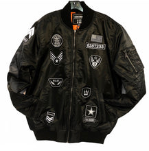 Load image into Gallery viewer, Bomber Jacket with Patches