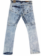 Load image into Gallery viewer, Ice Blue Slim Fit Riding Jeans