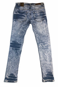 Slim Fit Ice Blue Jeans