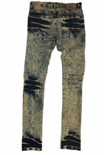Load image into Gallery viewer, Slim Fit Vintage Gold Jeans