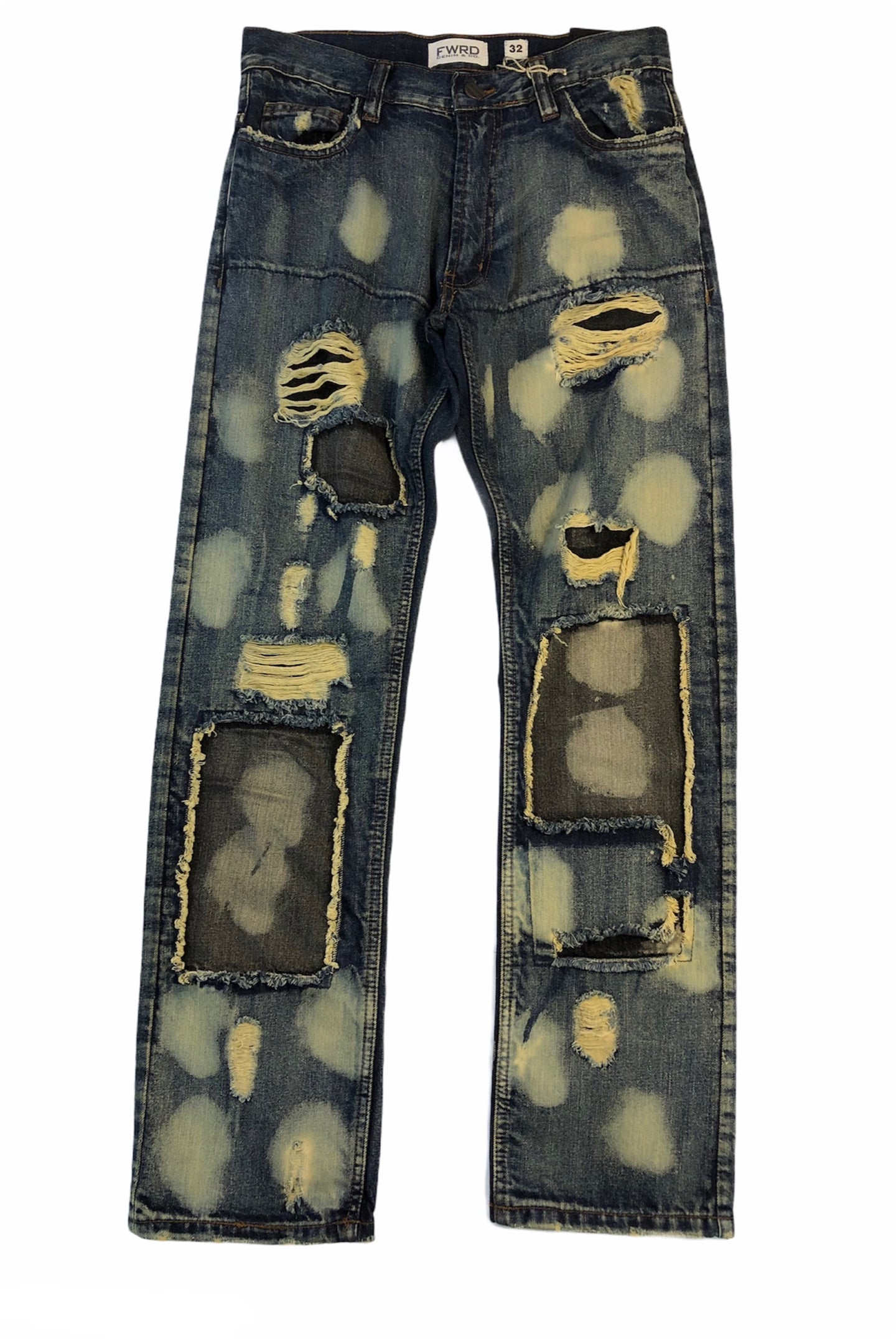 Bleach Circles Jeans