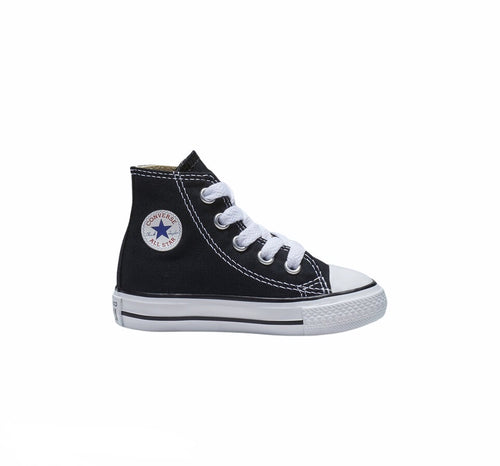Chuck Taylor All Star Black with White TODDLER