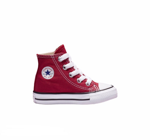 Chuck Taylor All Star Red and White High Top TODDLER