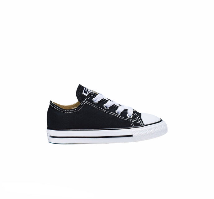 Chuck Taylor All Star Black with White Low Top TODDLER