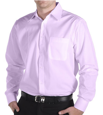 Daniel Ellissa Lavender Long Sleeve Dress Shirt