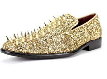 Load image into Gallery viewer, After Midnight Spiked Stud Dress Shoe (Additional Colors Available)