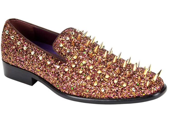 After Midnight Spiked Stud Dress Shoe (Additional Colors Available)