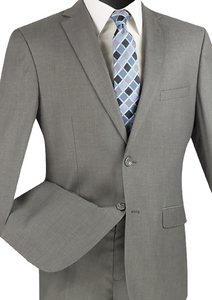 Vinci Ultra Slim Single Breasted Suit (Available in More Colors)
