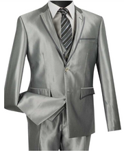 Load image into Gallery viewer, Vinci Ultra Slim 3 Piece Suit (Available in Multiple Colors)
