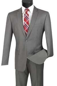 Vinci Slim Fit Two Button Suit in More Colors