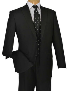 Executive Two Piece Suit (Available in Black or Brown)