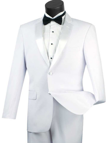 Vinci Slim Fit Tuxedo Collection (Available in Multiple Colors)