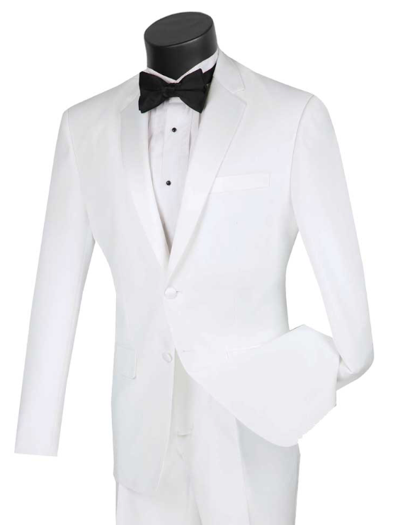 Slim Fit Tuxedo (Available in Black or White)