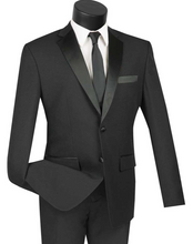 Load image into Gallery viewer, Slim Fit Tuxedo (Available in Black or White)