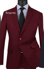 Load image into Gallery viewer, Solid Ultra Slim Suit