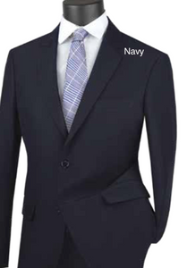 Solid Ultra Slim Suit