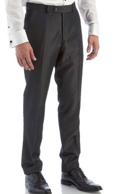 Pleated Dress Pants (Charcoal)