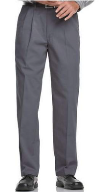 Pleated Dress Pants (Gray)