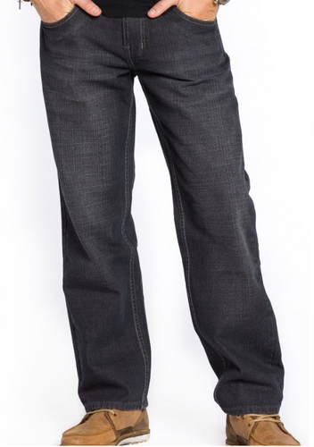 Relaxed Fit Jeans (Black)