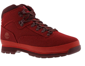 Red Knit Euro Hiker