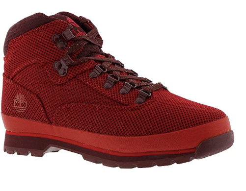 Red Knit Euro Hiker (Only Available to ship within the USA)