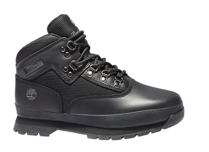 Black Full Grain Euro Hiker (Only Available to ship within the USA)