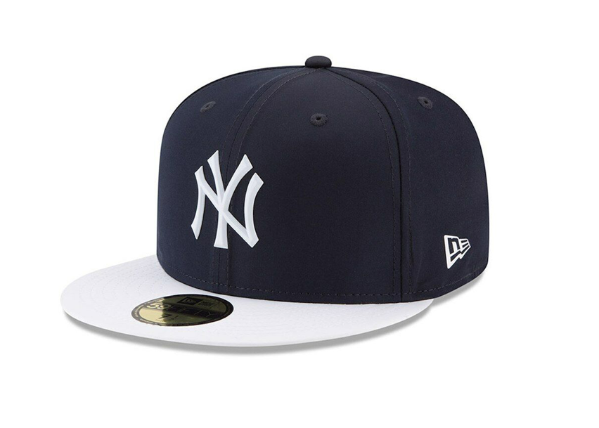Navy and White New York Yankees Cap