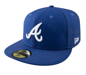 Blue Atlanta Braves Cap