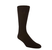 Load image into Gallery viewer, Basket Weave Solid Dress Socks