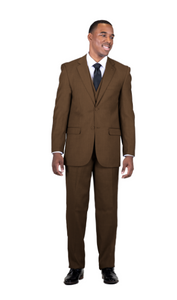 Burtt L Vested Suit (Available in Chestnut or Navy)