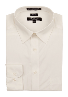 Slim Fit Dress Shirts (Yellow and Beige Variants)