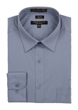 Load image into Gallery viewer, Slim Fit Dress Shirts (Blue Variants)