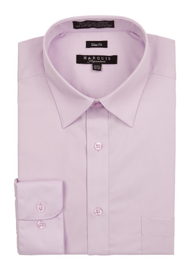 Slim Fit Dress Shirts (Purple Variants)